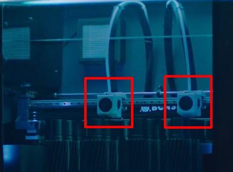 3D printer 3B yazıcı çift extruder kullanmak